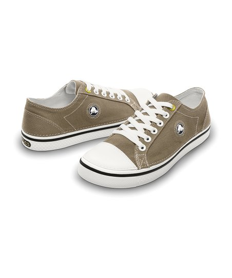 Khaki &amp; White Hover Sneaker - Men &amp; Women