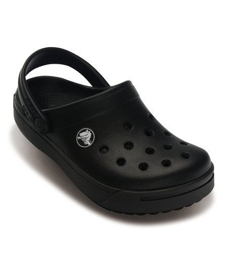 Black & Graphite Crocband II Clog