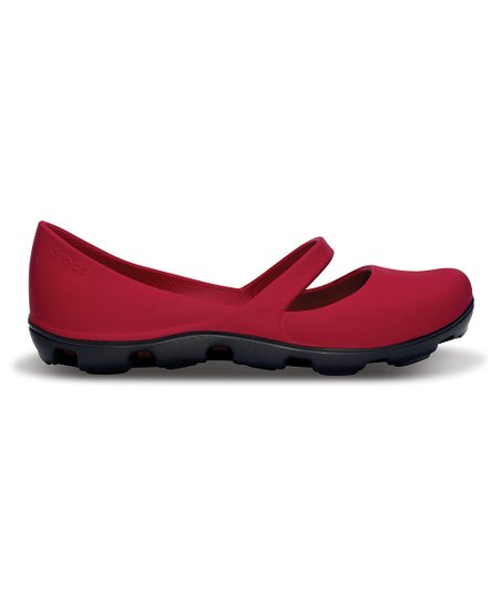 Raspberry & Graphite Duet Sport Mary Jane - Women