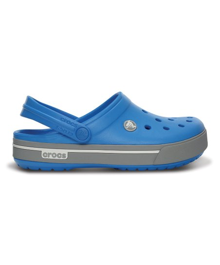 Ocean & Light Gray Crocband II.5 Clog - Men & Women