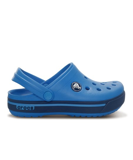 Ocean &amp; Navy Crocband 11.5 Clog - Kids