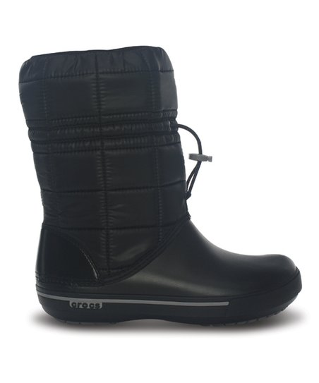 Black &amp; Smoke Crocband II.5 Winter Boot - Women