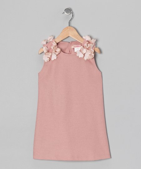 Dusty Pink Petal Tunic - Toddler & Girls