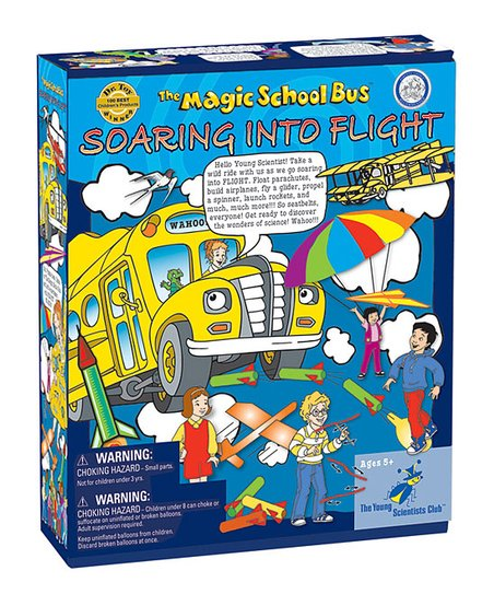 Young Scientists Magic School Bus: Soaring into Flight Kit