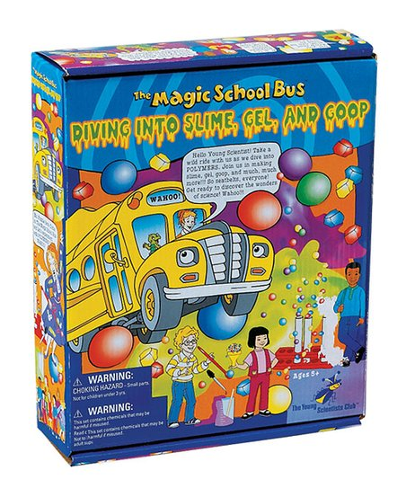 Magic School Bus: Slime, Gel &amp; Goop Kit