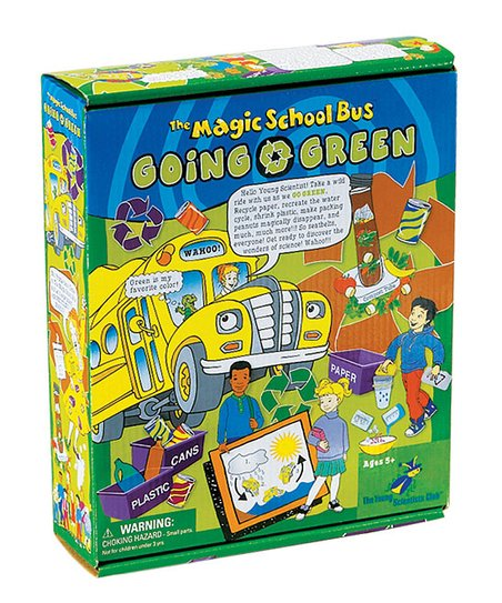 Magic School Bus: Going Green Kit