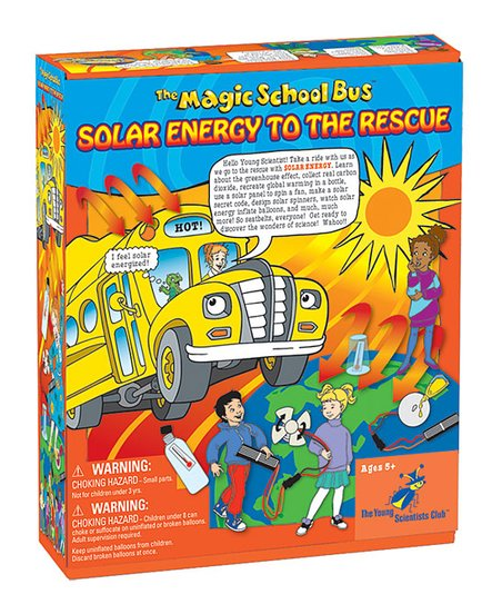 Magic School Bus: Solar Energy Kit