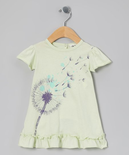 Waterfall Green Dandelion Organic Tunic - Infant