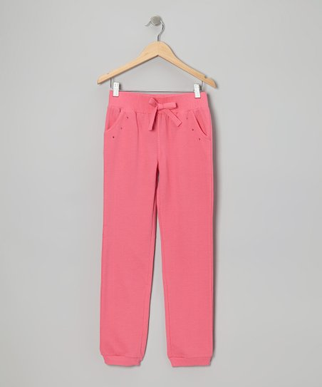 Hot Pink Sweatpants - Girls
