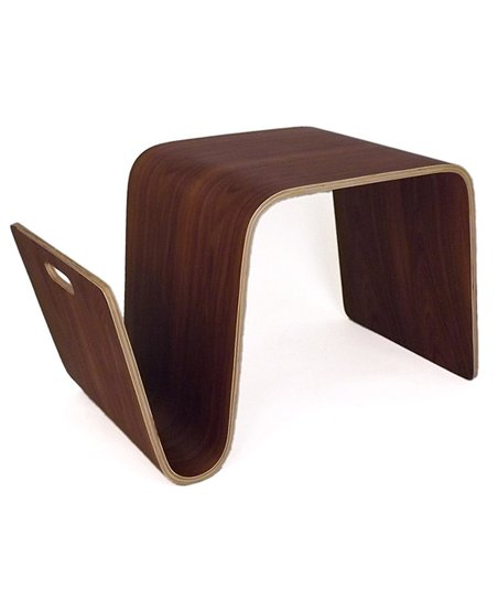 Bentwood Walnut Side Table