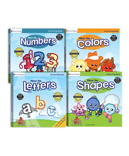 Lift-the-Flap Book Set