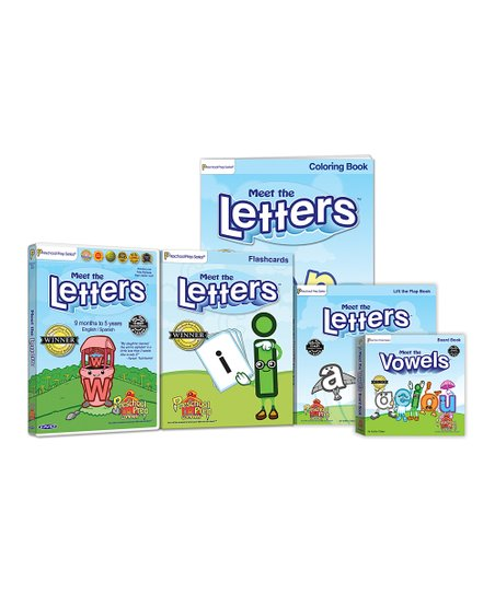 Meet the Letters Set