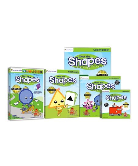 Shapes DVD &amp; Book Set