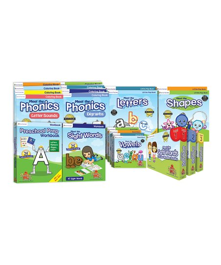 Preschool Prep Ultimate Book Set