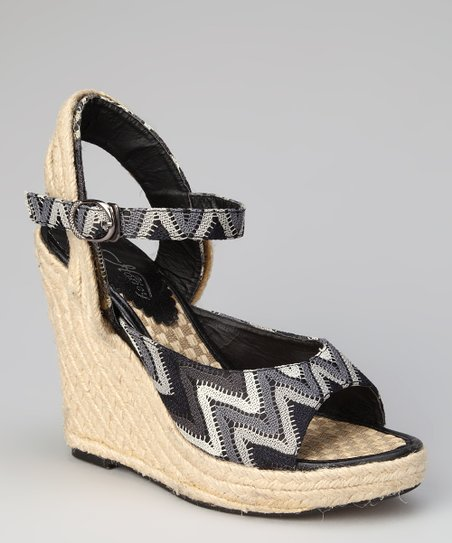 Black Nancy Espadrille
