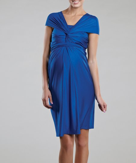 Royal Miracle Maternity Convertible Dress
