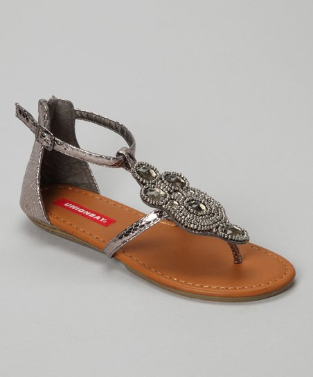 Pewter Cia Sandal