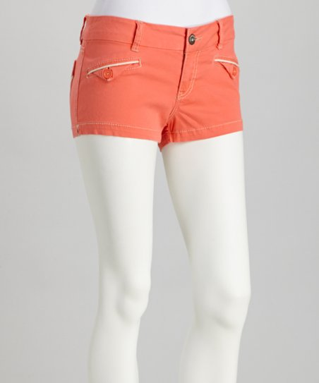 Vermillion Penney Shorts