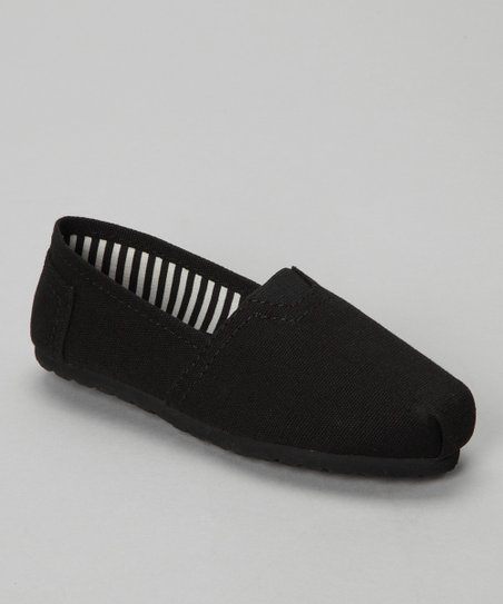 Black Shelby Slip-On Shoe