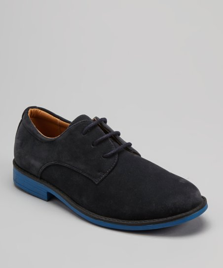 Navy Dress Shoe