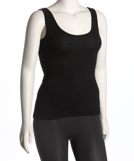 Black Secret Shaper Tank - Women