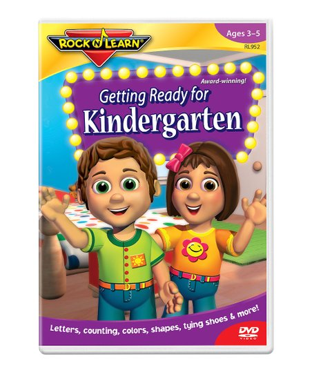 Getting Ready for Kindergarten DVD