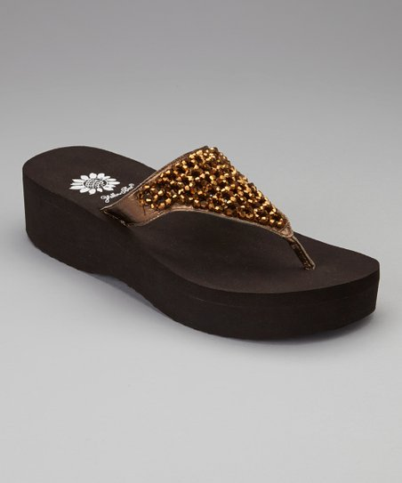 Bronze Louise Sandal - Women