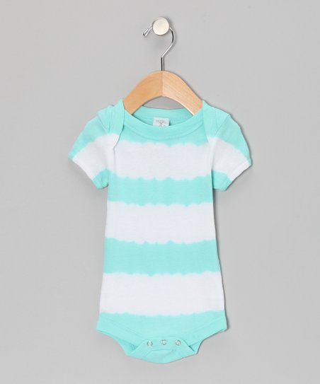 Blue Stripe Bodysuit - Infant