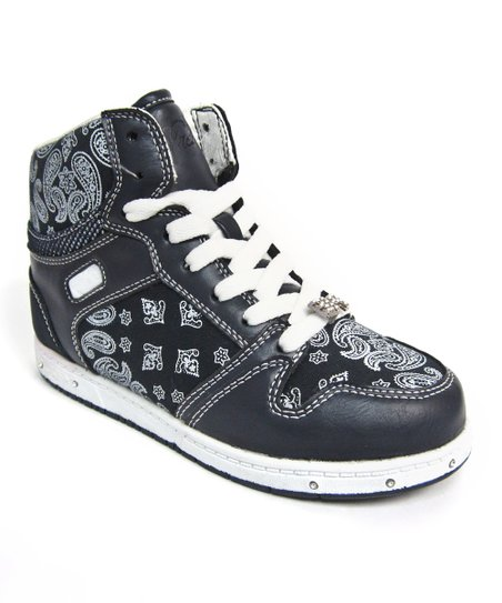 Black Voyage Hi-Top