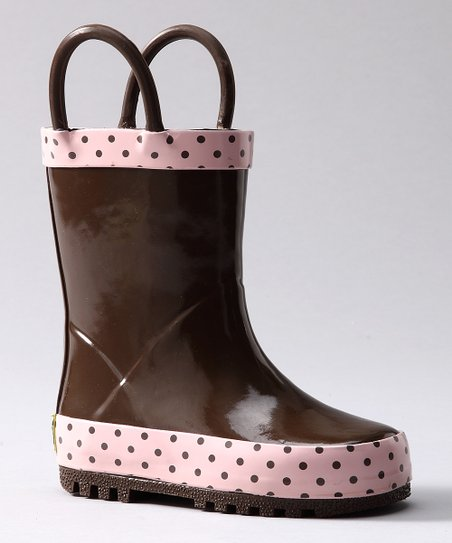 Chocolate Frenchy French Rain Boot