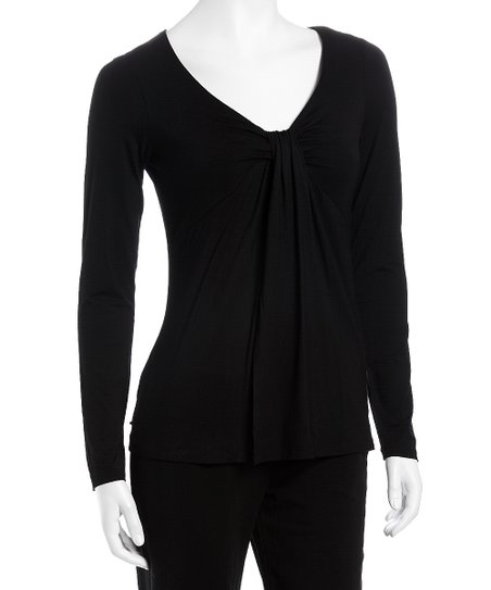 Black Flynn Maternity & Nursing Top - Women & Plus