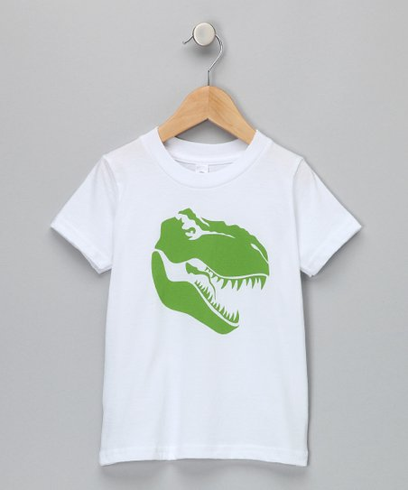 White T-Rex Tee - Infant