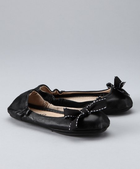Black Espresso Ballet Flat