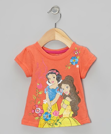 Orange Belle & Snow White Tee - Toddler
