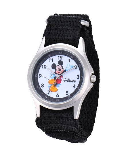 Black Mickey Mouse Watch