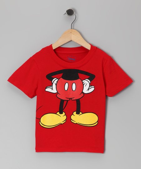 Red Mickey Headless Tee - Infant & Toddler