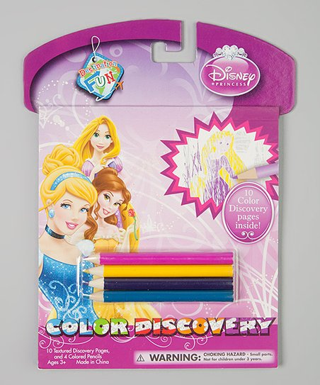 Disney Princess Color Discovery Set