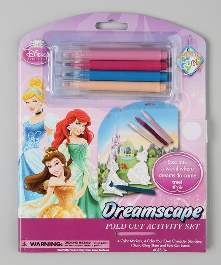 Disney Princess Fold-Out Activity Set