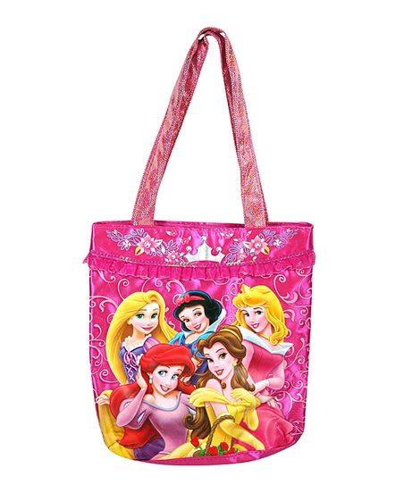 Princess Glitter Tote Bag