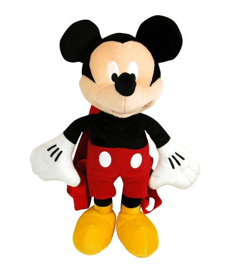 Mickey Mouse Plush Backpack