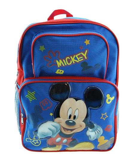 Blue Mickey Mouse Backpack