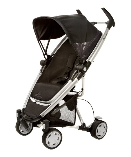 Quinny Rocking Black Zapp Xra Stroller & Folding Seat