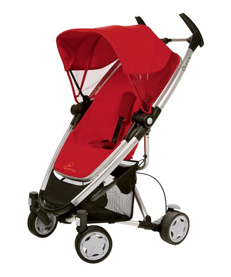Quinny Rebel Red Zapp Xra Stroller & Folding Seat