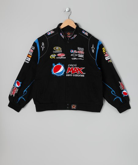Black Jeff Gordon Cola Drink Jacket - Kids