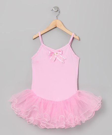 Pink Wave Skirted Leotard - Toddler &amp; Girls
