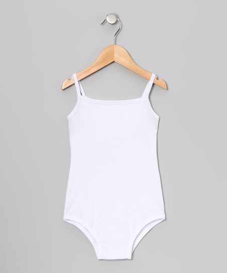 White Leotard - Infant, Toddler &amp; Girls