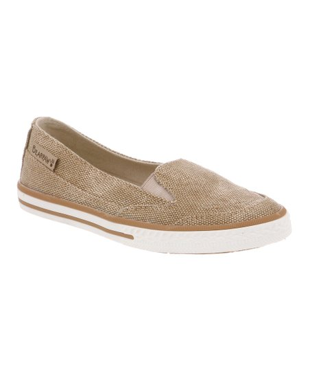 Tan Holly Slip-On Sneaker - Kids