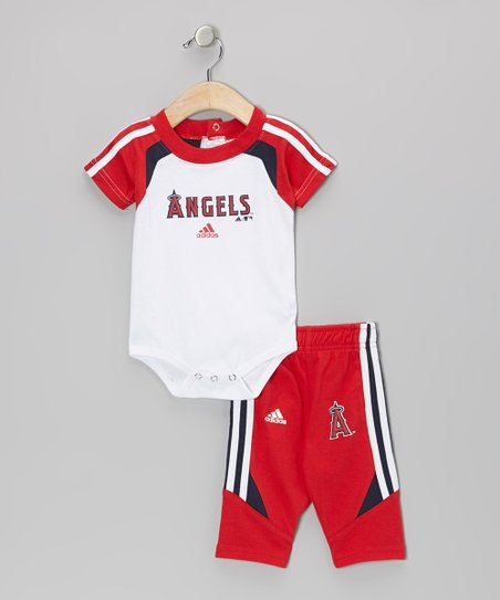 Red Angels Bodysuit & Pants  - Infant