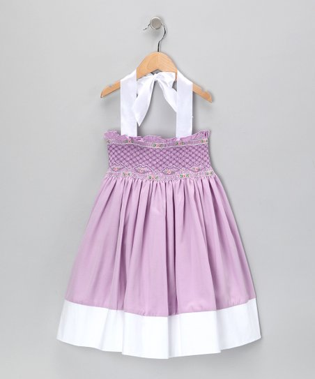 Purple Bayberry Dress - Infant & Toddler