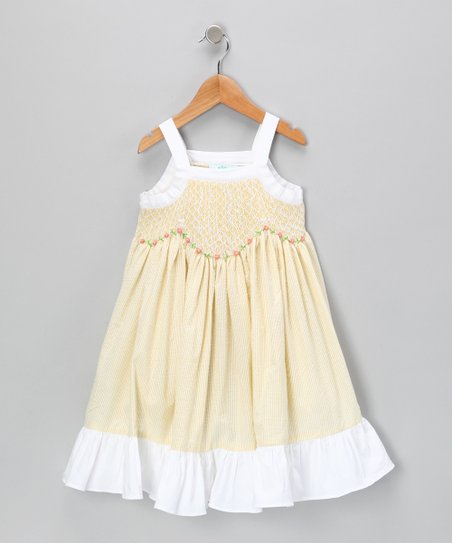 Yellow Oksana Dress - Infant, Toddler & Girls